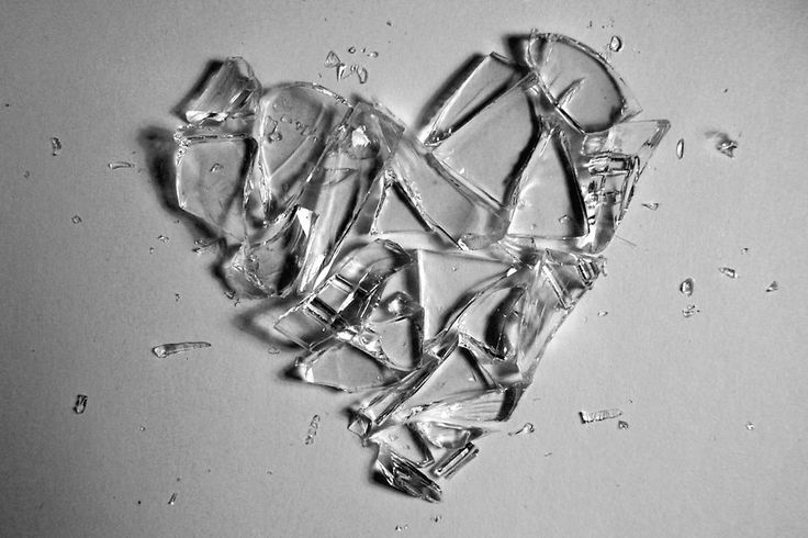 a broken heart can't be fixed. dont cut yourself on the pieces. sweep them away... and you'll find a new, stronger heart beating in it's place.