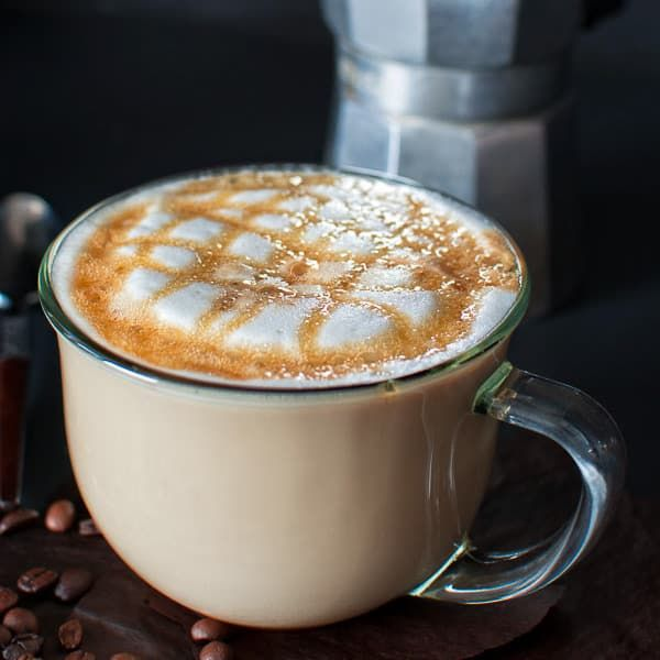 Try this homemade version of the most popular Starbucks drink – Caramel Macchi…   – Yummy!