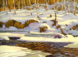 A.J. Casson Winter On The Don 1926