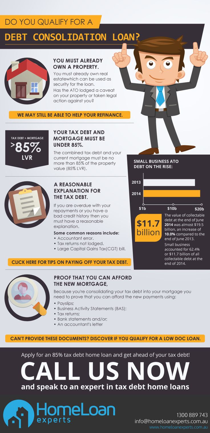 85% Tax Debt Home Loan