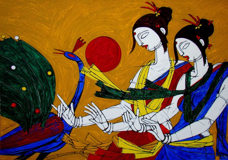 Tribal Woman by Jiaur Rahman no: 59878