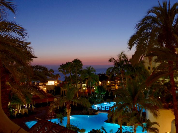 Tenerife 2015, a view from the balcony.