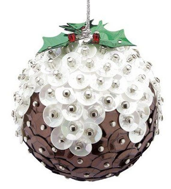 Como fazer bolas de natal com lantejoulas passo a passo - Vários modelos, ideias e sugestões pra deixar sua arvore de natal mais bonita! - Entre!