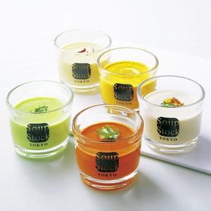 「ヴィシソワーズ」をはじめ、夏にぴったりの5種類の冷製スープ。【東京 サマーセット】