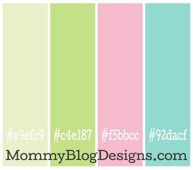 Light Khaki Green E9efc9 C4e187 Pink