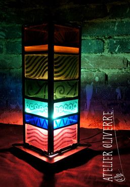 25 best Lampe vitrail images on Pinterest | Stained glass, Lamps and ...