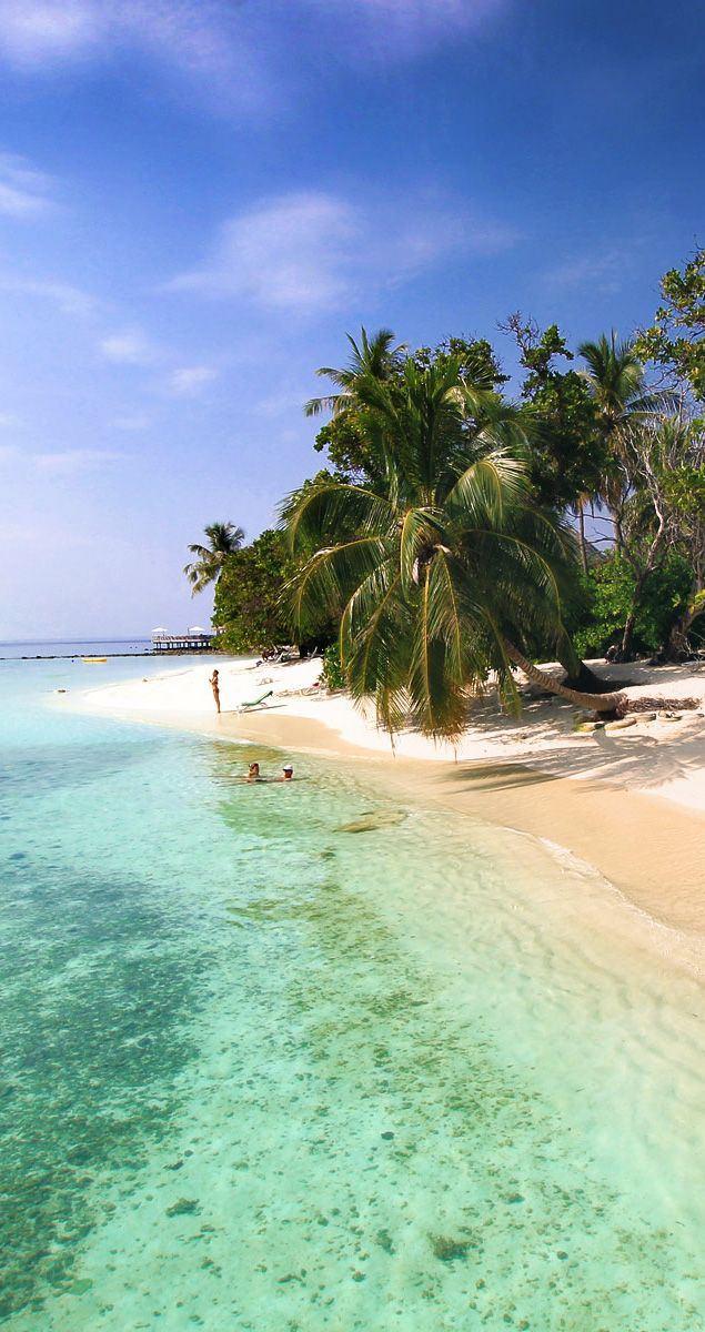 Bandos Island - That one time I got invited to the Maldives | The Maldives is a chain of surreal islands in the Indian Ocean. For almost a week I escaped the real world and found myself in a tropical paradise called Bandos... | © Sabrina Iovino | via @Just1WayTicket