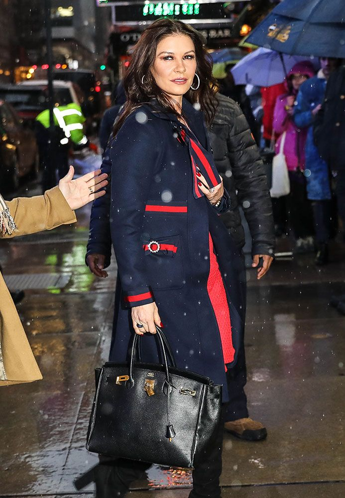 Celebs Promote Their Latest Works While Carrying Hermès, Louis Vuitton and The Row Bags - PurseBlog