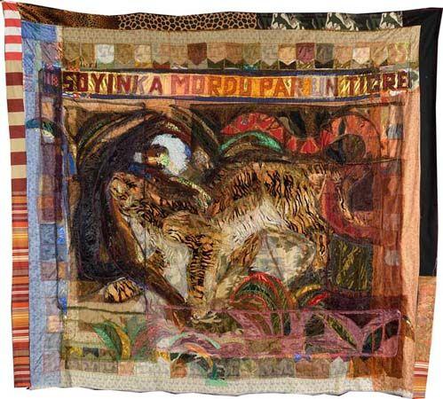 Hassan Musa, Tigritude, Soyinka mordu par un tigre  http://www.pascalpolar.be/site/artisteview.php?nom_de_tri=Hassan%20Musa