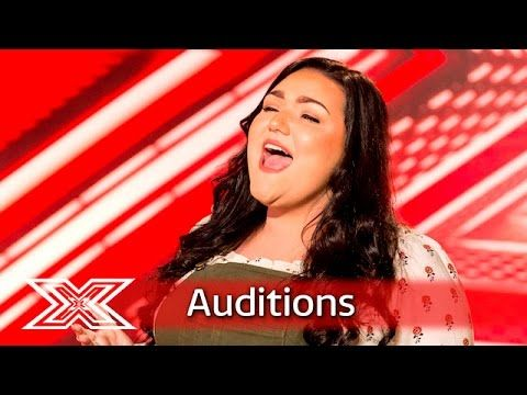 Kayleigh fights her demons in front of the judges | Auditions Week 2 | The X…