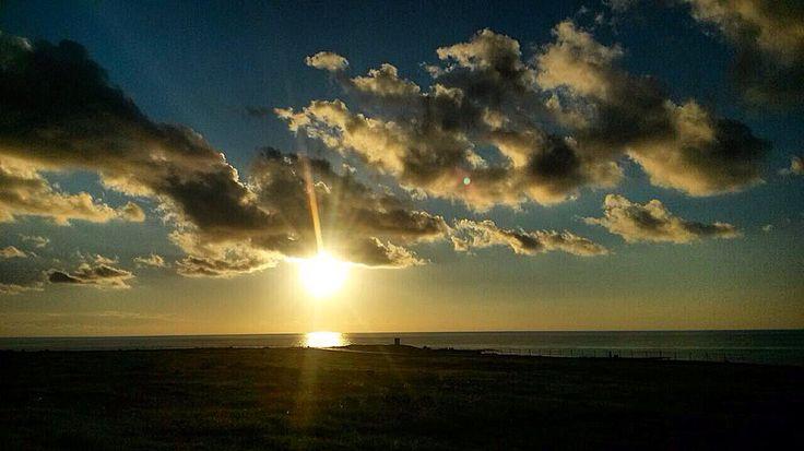 Sunset in Paphos area, Cyprus/zachód słońca w okolicy Pafos #cyprus #cypr