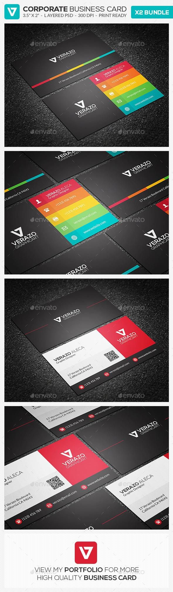 363 best business card design images on pinterest business cards business card bundle 16 by verazo need more high quality business card view my business card templates collection or save money buy business card bundle magicingreecefo Gallery