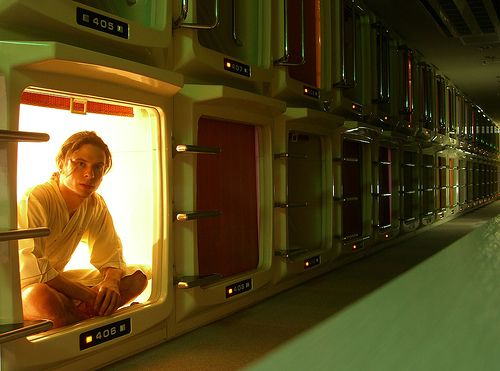 17 best images about japanese capsule hotels on pinterest for Design hotel tokyo