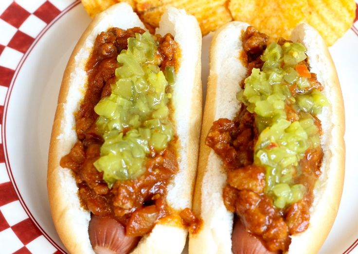 This delicious hot dog sauce recipe is the perfect topper for your hot dogs. It's tart, and sweet, and spicy, and takes a plain hot dog to a new level.