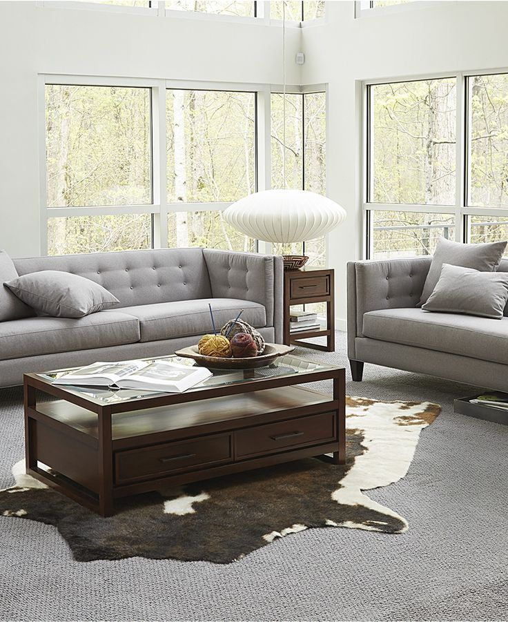 Grey Living Room Braylei Track Arm Sofa Collection Home