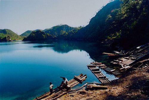 Lagos en turquesa en Lagunas de Montebello