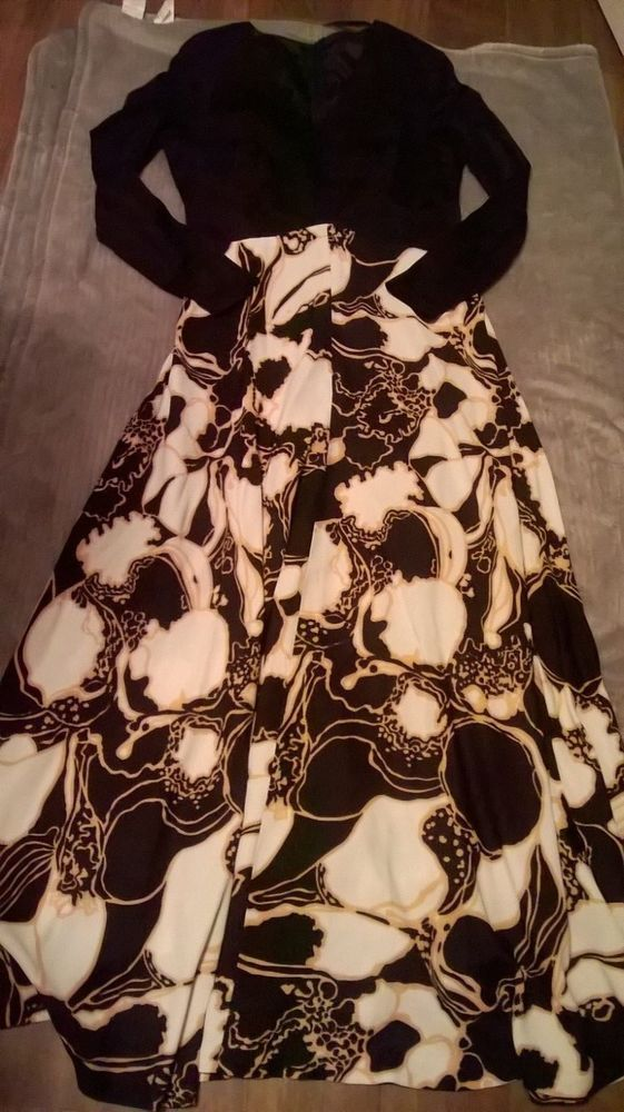 Vintage Ilgwu Union Made Int ladies Garment Workers union Dress Beautiful