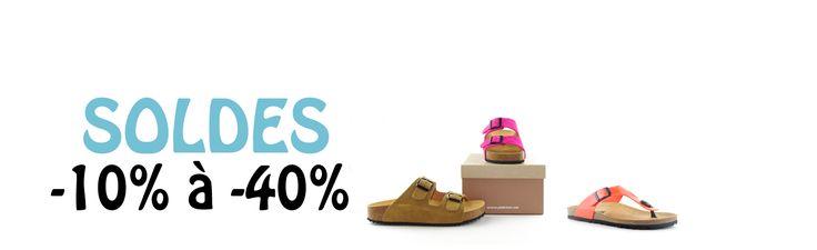 Profitez des soldes du 28 juin au 8 août 2017 sur les modèles de chaussures Plakton !