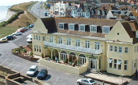 The White Horse Hotel in Rottingdean.