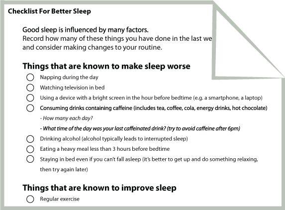 Printables Sleep Hygiene Worksheet sleep insomnia and therapy on pinterest