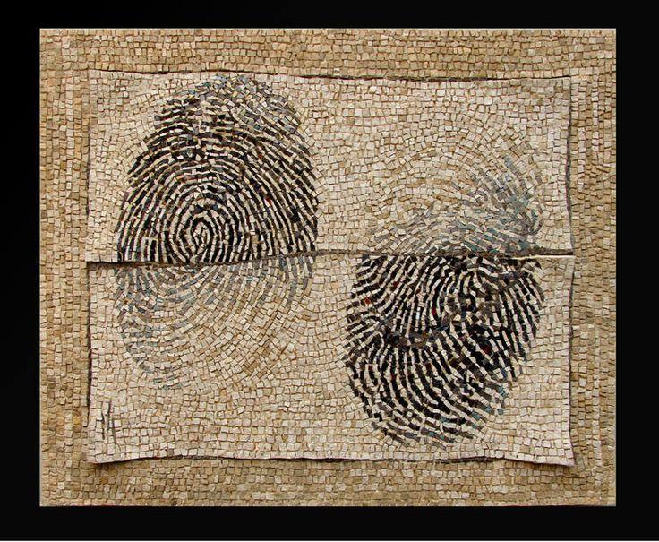 "Saatchi Art Artist: Dino Maccini; Stone 2009 Installation """"Una strana storia"""""