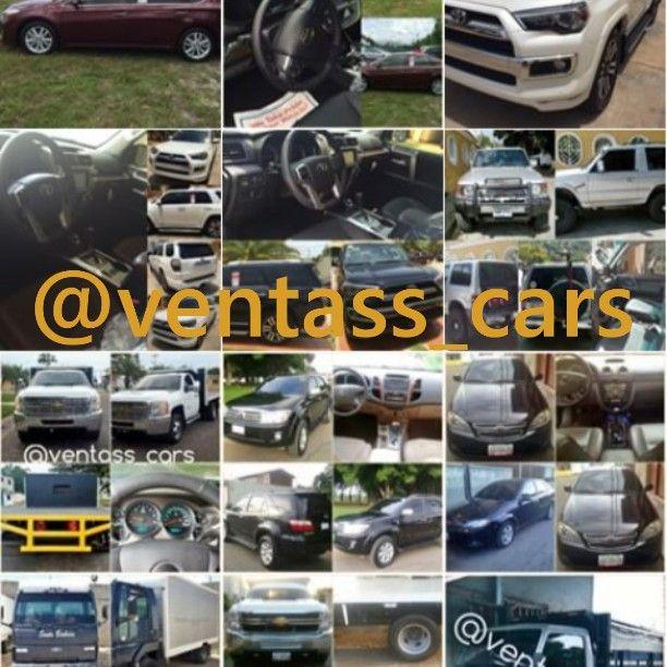 Venta de vehículos Encuentra lo que buscas en @ventass_cars. Tiene excelentes precios y lo mejor TRATOS DIRECTO CON EL DUEÑO nada de intermediarios.. Tambien publicamos tu vehiculo Totalmente gratiis!! Sin ningún Costo Adicional.. Solo contactanos por el whatsapp 04123505332 #venta#carros#nuevos#usados#0km#Toyota #Chevrolet #Ford #Volkswagen #Fiat #BMW ##Mazda #Mitsubishi#Nissan