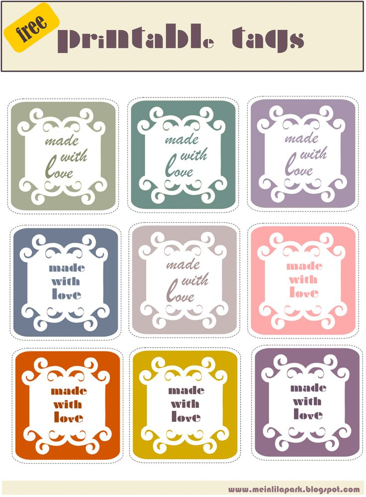 58 best inspiration cooking labels images on pinterest products meinlilapark digital freebies free printable made with love tags ausdruckbare ettiketten freebie negle Images