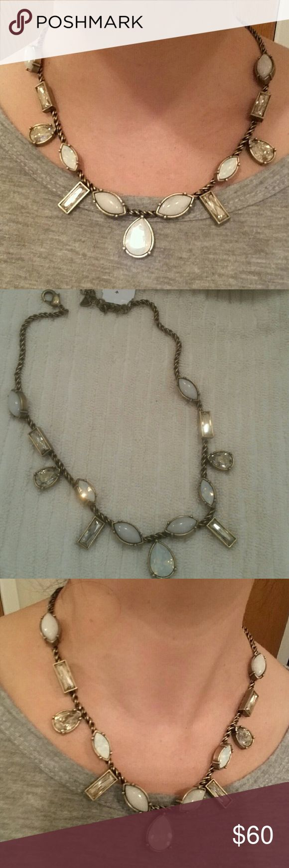 SILPADA STUNNER CRYSTAL CLEAR!! Somebody call 911!! This piece is on FIRE. These crytals and quartz details are on fire. Turn left turn right this neckalace will catch the light at each and every turn. THIS PIECE IS WORTHY OF EVERYTHING!!! Silpada Jewelry Necklaces