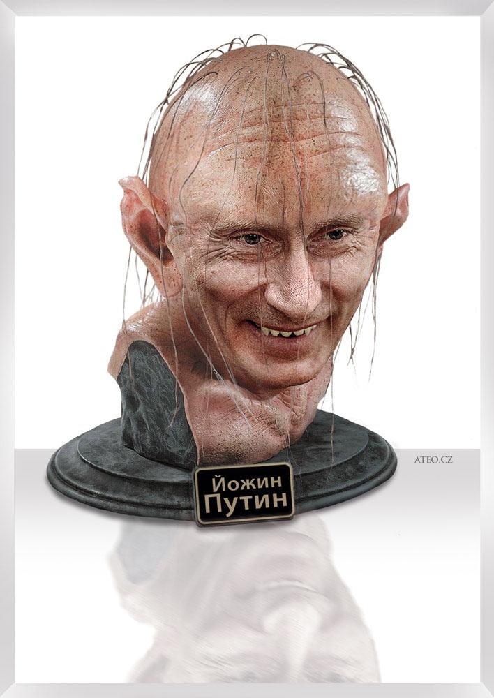 Gollum Putin /or/ Йожин з бажин  #putin #gollum #humor #funny #ateo