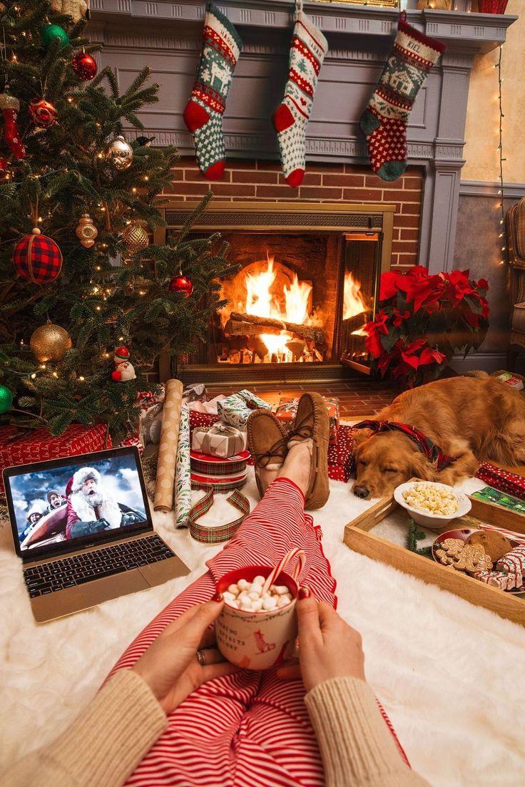 проеме уютные картинки о новом годе наши