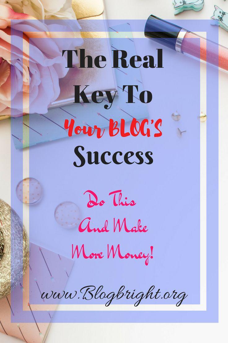 Key to blog success