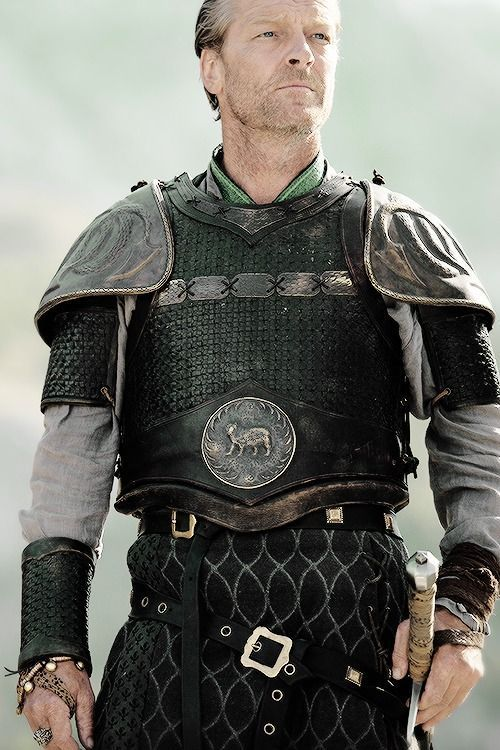 ser jorah in his mormont plate armor the only game in