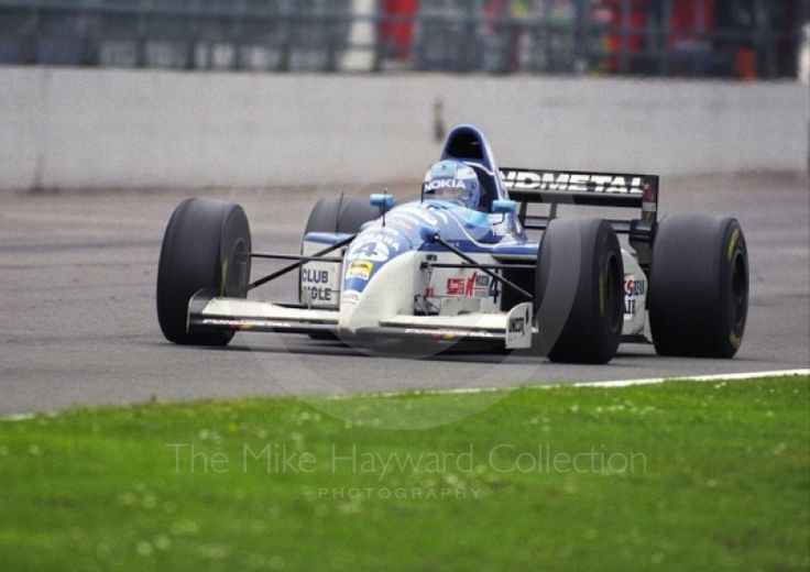 Mika Salo, Silverstone 1995, Tyrrell 023