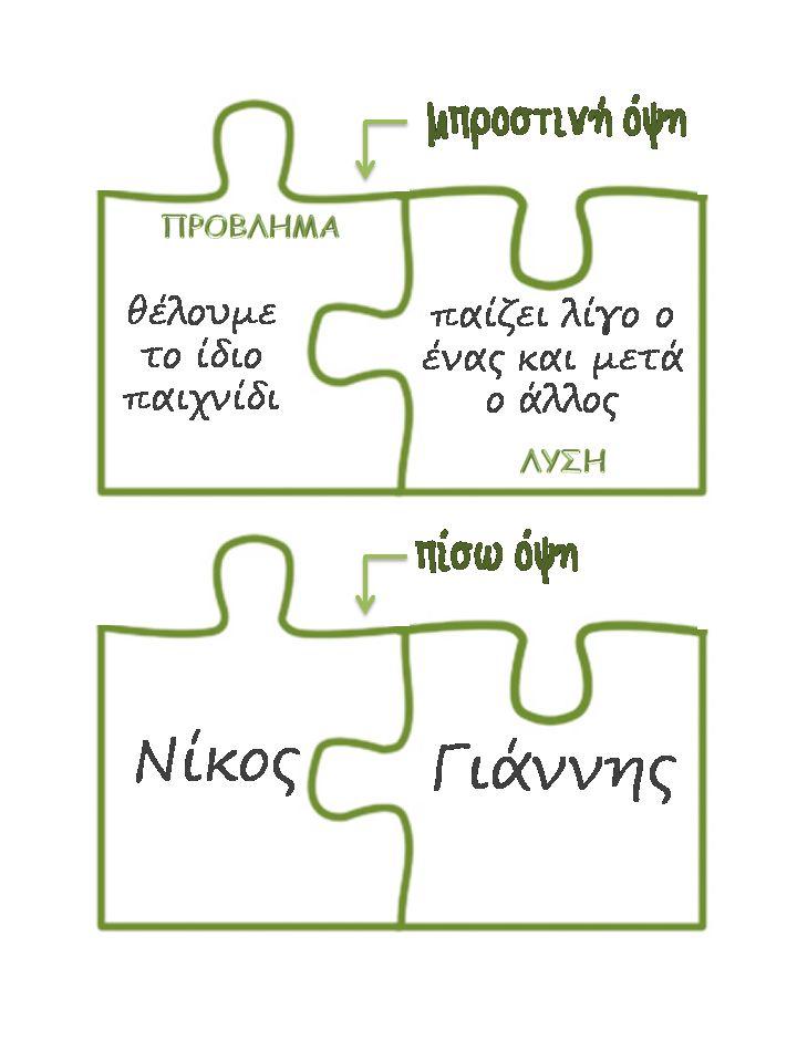 Νηπιαγωγός για πάντα....: Η Γωνιά της Σκέψης και της Συμφιλίωσης