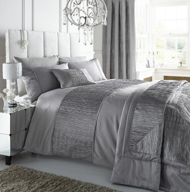 silver bedspread - Google Search