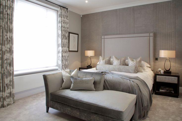Bedroom interior design grey Cocovara :: Portfolio
