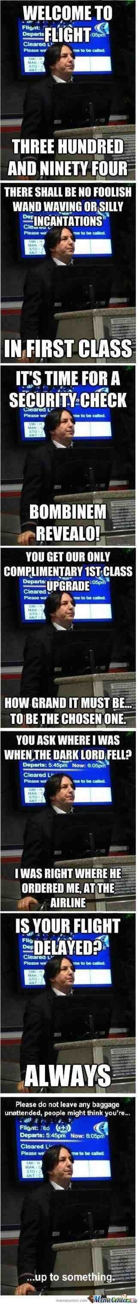 A collection of AirlineSnape! Lol