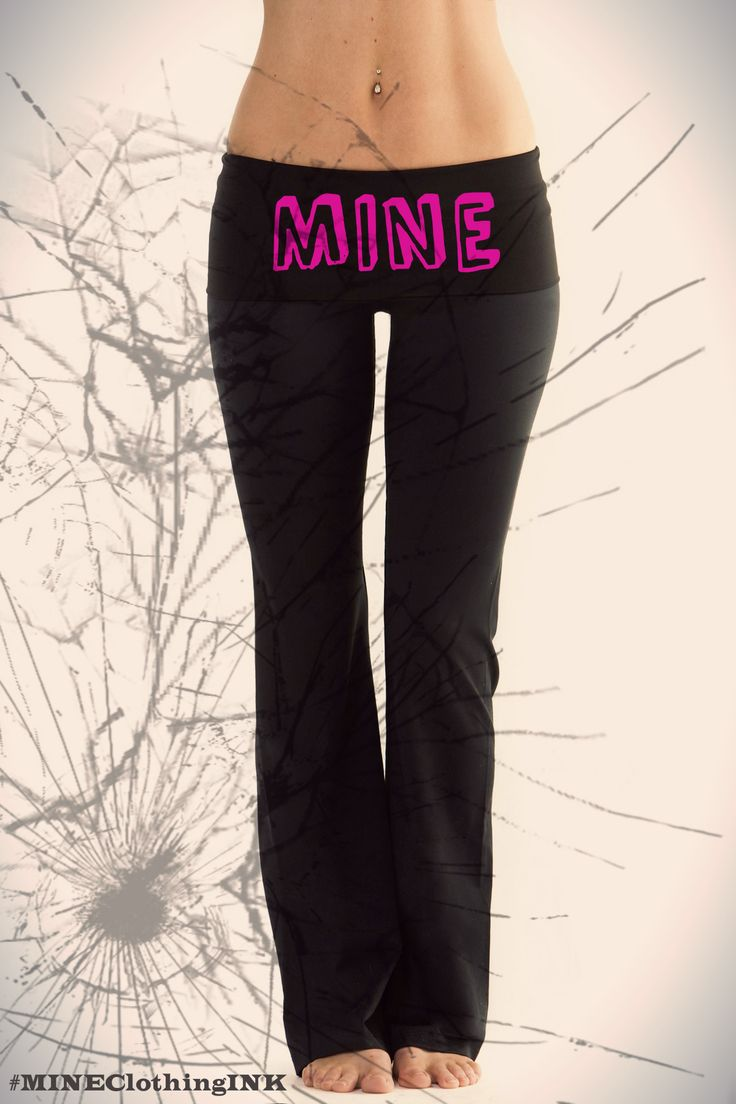 Pin Yoga Pants Front View on Pinterest