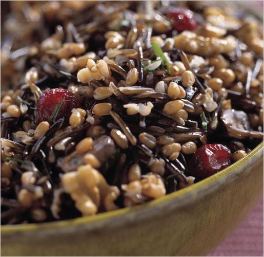 Wild Rice with Mushrooms, Cranberries, and Walnuts | Healthy Eating ...