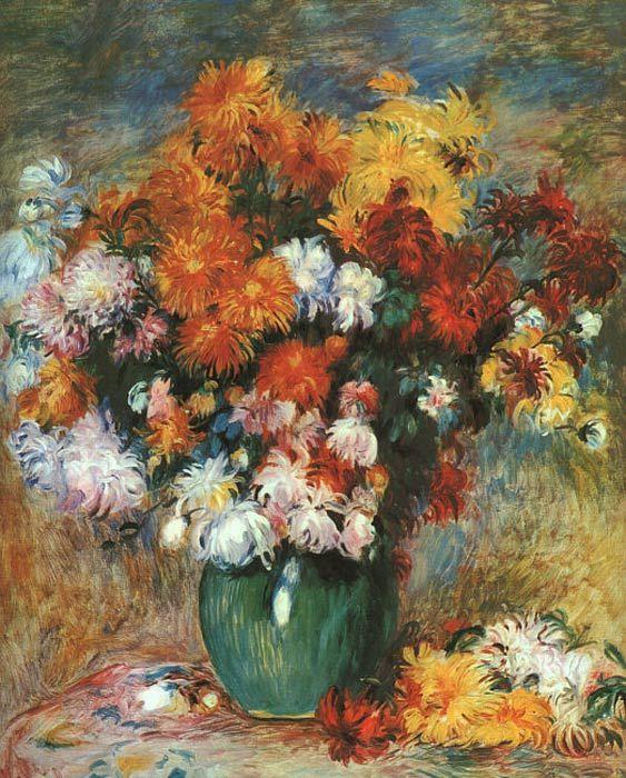 Pierre Auguste Renoir Pierre Auguste Renoir Wie Man Blumen Malt