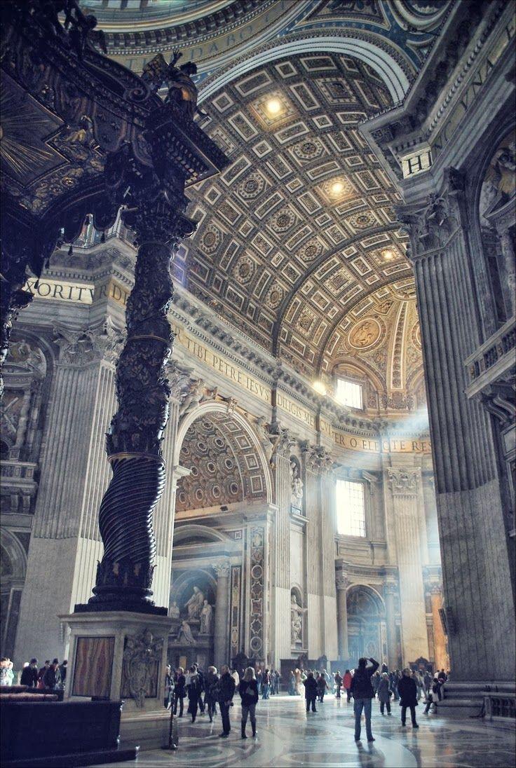 St. Peter's Basilica, Vatican City, Rome.