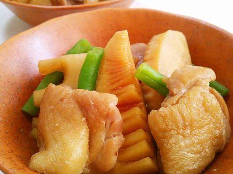 *鶏肉とたけのこの煮物*の画像