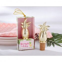 """TAPÓN BOTELLA """"PIÑA"""" EN CAJA DE REGALO #regalosbonitos #bodasEspaña #regalosparabodas #regalosparabautizos"""