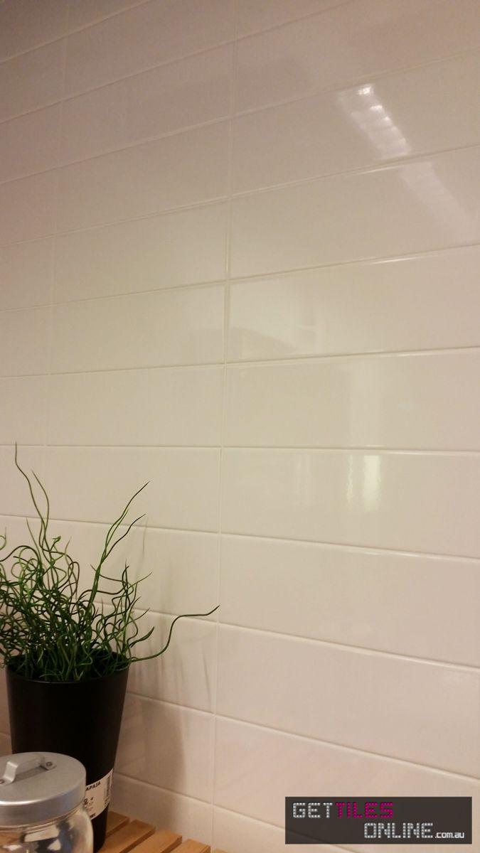Gloss White Wall 100x300 Code 00588 Get Tiles Online