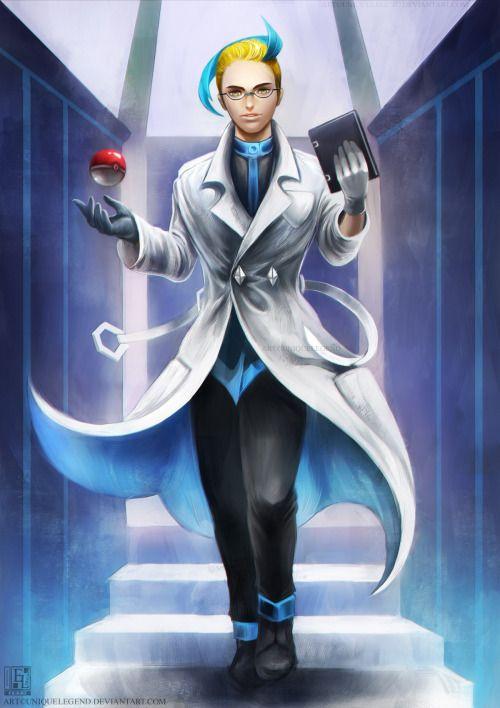 Realistic Colress Realistic pokemon trainer Pokemon Realistic pokemon