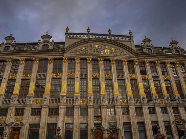 The Grand Place or Grote Markt in the heart of Brussels is lined with breathtaking buildings, but my favorite is this one – the House of the Dukes of Brabant, an elegant 18th century mansion. This is one of the largest structures in this plaza and it was named after the 19 busts of Dukes of Brabant displayed here. In fact, behind this gorgeous facade there are seven separate houses, but despite the name, no duke of Brabant have ever lived here.