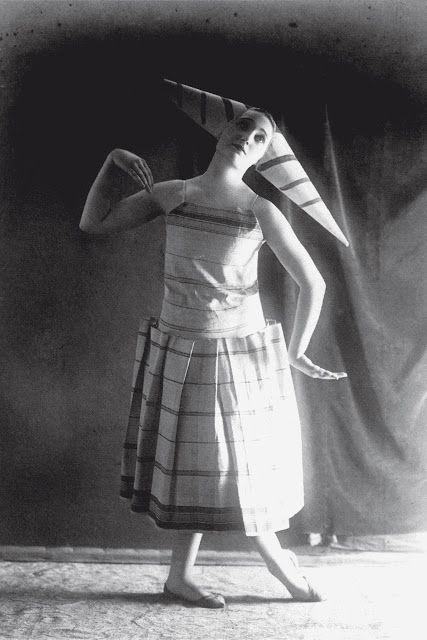 Lizica Codreanu withConstantinBrancusi's Costume