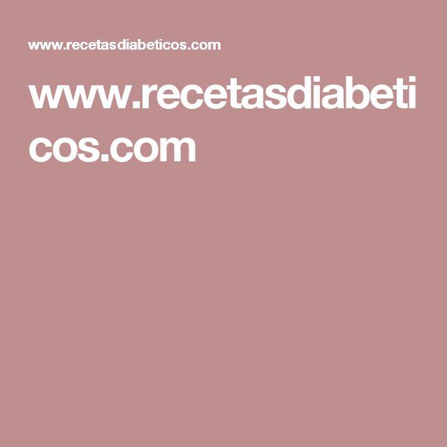 www.recetasdiabeticos.com
