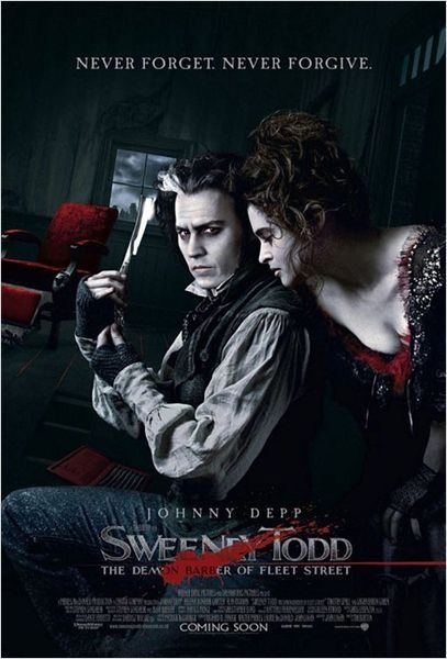 Sweeney Todd, le diabolique barbier de Fleet Street - Tim Burton