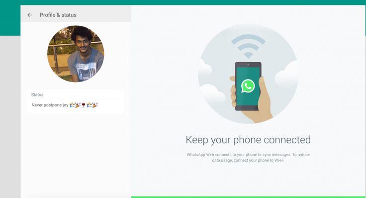 WhatsApp Announces It's Web Version